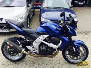 Fræk og letkørt Kawasaki Z 750 ABS