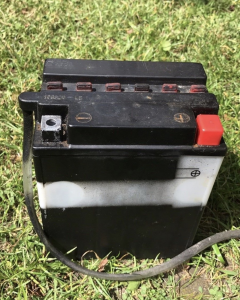 Batteri til bl.a. til Honda CX