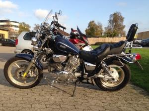 Yamaha XV750 til salg på MCsalg.dk