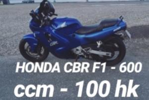 Honda Cbr F1 til salg på MCsalg.dk