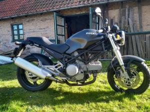 DUCATI 620 Black Monster til salg på MCsalg.dk